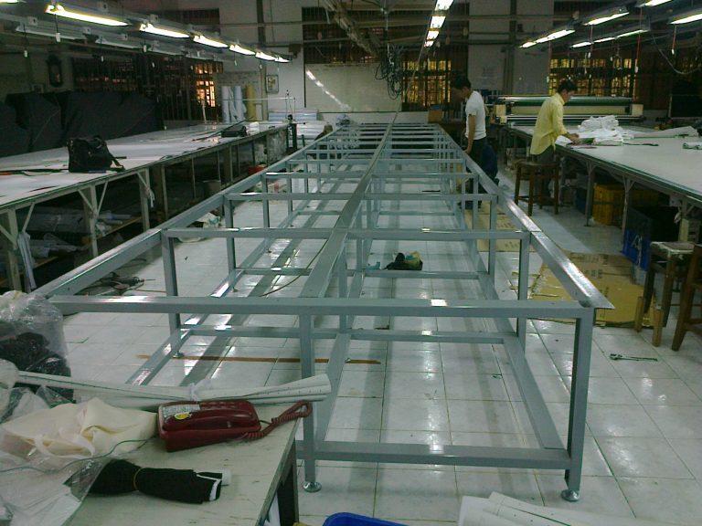 Quy trình sản xuất bàn cắt vải