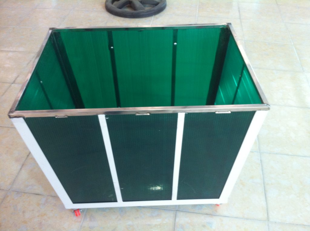 khung chứa vải T&T, Xe chứa vải